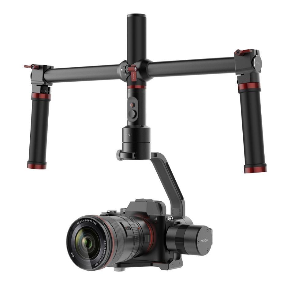 Stabilisateur de caméra à cardan portable 3 axes MOZA Air pour toutes les caméras sans miroir, y compris les séries GH4/GH3 BMPCC PK zhiyun crane m