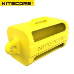 Nitecore NBM40 silikonowe etui uchwyt do przechowywania przenośny akumulator magazyn damska 18650 obudowa baterii