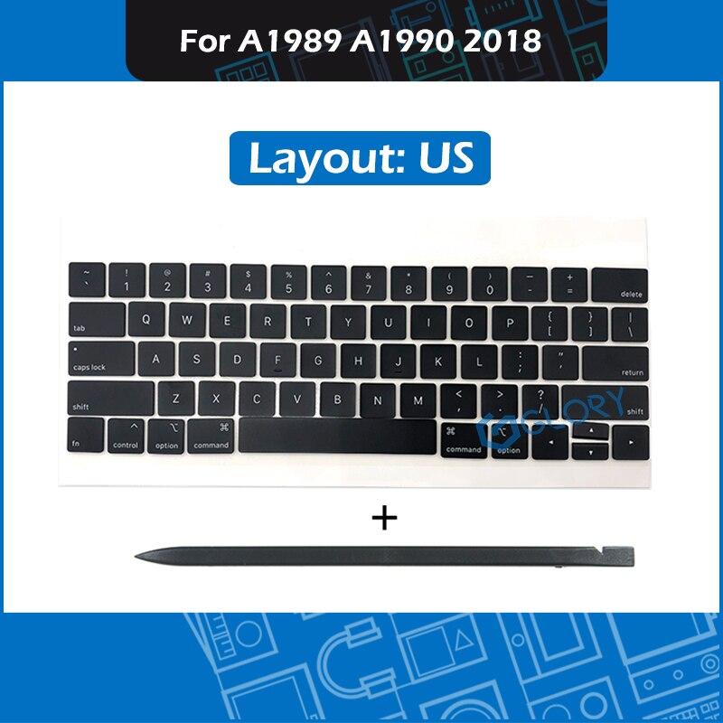 Laptop A1989 A1990 US Keycaps Complete set For font b Macbook b font Pro Retina 13