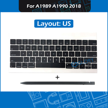 Laptop A1989 A1990 US Keycaps Complete set For Macbook Pro Retina 13″ 15″ Keyboard repair Keycap with Crowbar 2018