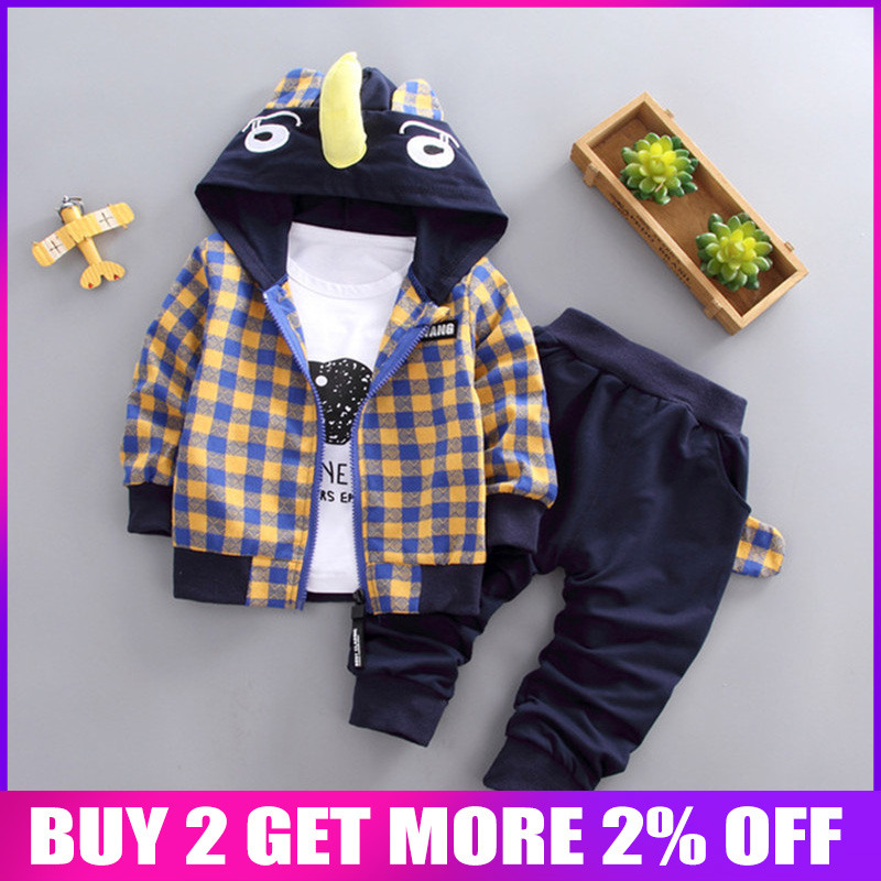 BibiCola baby boys clothing set spring autumn newborn baby cartoon casual hoodies+t-shirt+pants 3pcs tracksuits dor bebe boys BibiCola baby boys clothing set spring autumn newborn baby cartoon casual hoodies+t-shirt+pants 3pcs tracksuits dor bebe boys