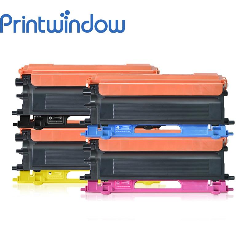 все цены на Printwindow Compatible Toner Cartridge TN-115/135/155/175 for Brother MFC-9440CN/9640CW/9840CDW/9450CDN 4X/Set онлайн