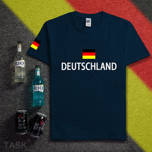Germany deutschland shirt man socceres jerseys 2016 2017 t-shirt cotton nation team cotton meeting fans short streetwear fitness(China)