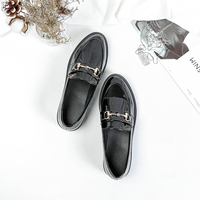 Scarpe Donna Shoes Woman Slip on Creepers PU Leather Shoes Lady Fashion Casual Pointed Toe Women Flats Mocassin Femme Luxe Sale
