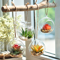 Creative artificial succulents plants manualidades room decorations zakka style farmhouse decor