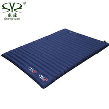 Thick 10CM Inflatable Cushion Camping Mat Portable Sleeping Pad Outdoor Tent Double Inflatable Bed Mattress Beach Picnic Mat цена
