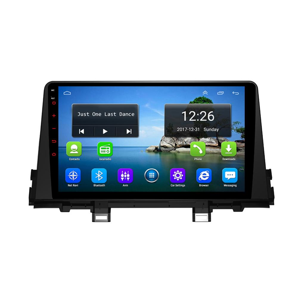 Android 4G LTE HD1080P 4 core 2GB DDR3 free map front camera multi-touch screen fast delivery for KIa morning picanto 2019 9inch