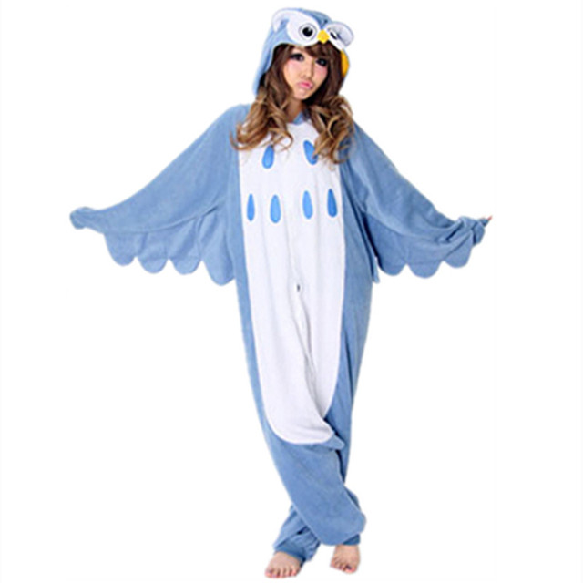 Anime stitch unicornio onesie Pyjamas Cartoon Animal Cosplay Costume adult Children kids Sleepwear Halloween Owl Jumpsuit Romper