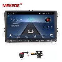 1024x600 HD 9 2 Дин Радио Android gps навигации мультимедийный плеер для VW Passat Golf MK6 для Golf, jetta, POLO Touran seat WI FI