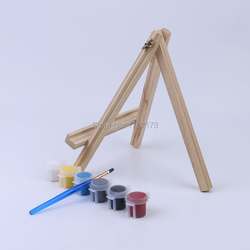 cm mini wooden easel tabletop easel for artwork display - Tabletop Easel