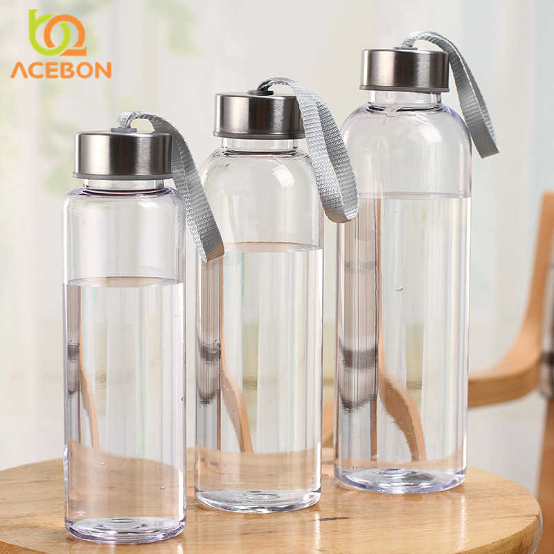 Water Bottle With Stainless Steel Cover Sports Milk Juice Vegetable Water Bottle Portable Travel Water Bottle 300ml 400ml 600ml