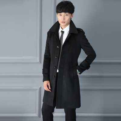 AIMENWANT Men's Woolen Coat...