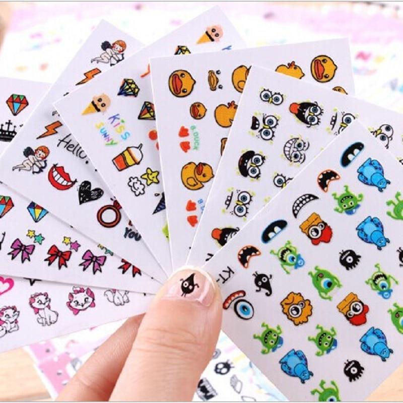 nail art stickers 3d beauty sticker