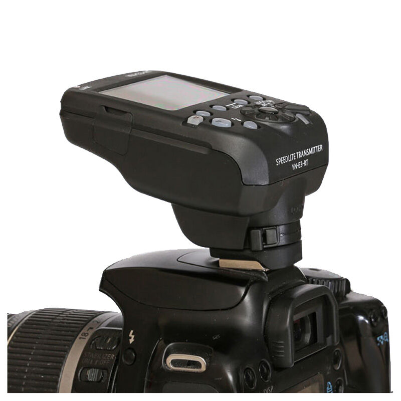 Yongnuo  YN-E3-RT TTL Radio Trigger Speedlite speedlight Transmitter as ST-E3-RT for Canon 600EX-RT  YN600EX-RT mcoplus mt e3 rt ttl radio trigger speedlite transmitter for canon 600ex rt as st e3 rt vs yn e3 rt