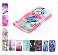 Fashion wallet Phone cover Beautiful Rose Flower Tower pattern full cover Flip Leather Case For Meizu M2 Mini / 5.0 inch
