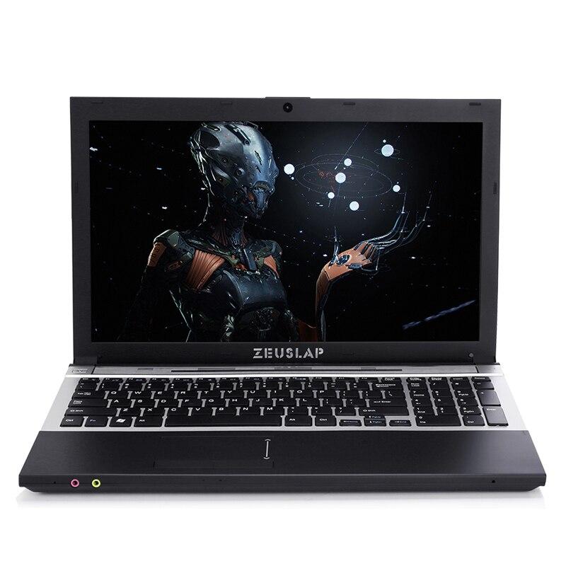 ZEUSLAP 15.6 pouces Intel Core i7 ou Intel Pentium CPU 8 gb RAM + 750 gb HDD Intégré WIFI Bluetooth DVD-ROM Ordinateur Portable Ordinateur portable