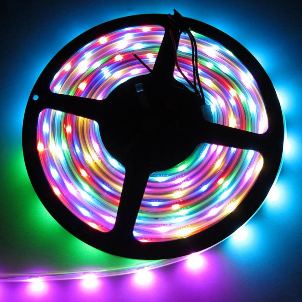 Led Lighting Led Strips Purposeful Icoco 2017 Brand New 5m Ws2812b Ws2811 Individual Addressable 5050smd 12v Led Strip Light 300leds