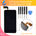 LL TRADER NO Dead Pixel Black Brand New For HTC desire VC T328d Lcd Display Screen with Touch Screen Digitizer Assembly  Tool