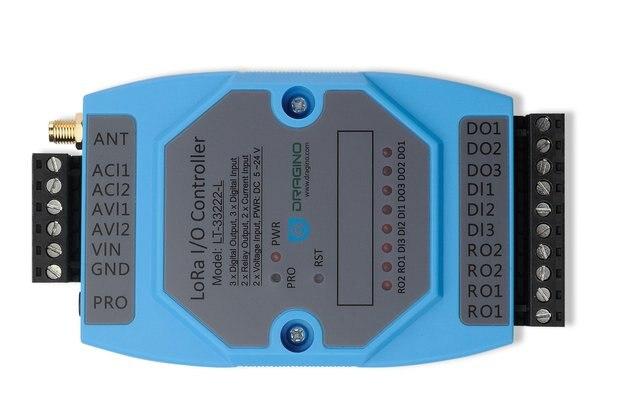 LT-33222-L, LoRaWAN I/O Controller.(LoRaWAN I/O controller. LoRaWAN End Device.)
