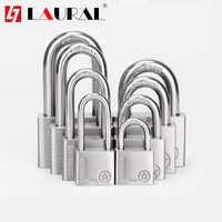 Stainless Steel 304 Same key Open all Padlock Cabinet Outdoor Lock Head Furniture Lock Waterproof Rust-Proof Door Lock