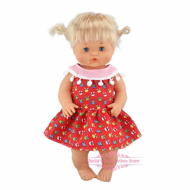 新ファッションドレスフィット 40 センチメートル 41 センチメートル Nenucos 人形 Nenuco Ropa su Hermanita パープルロングスリーブ Tシャツ紫ドットパンツと帽子