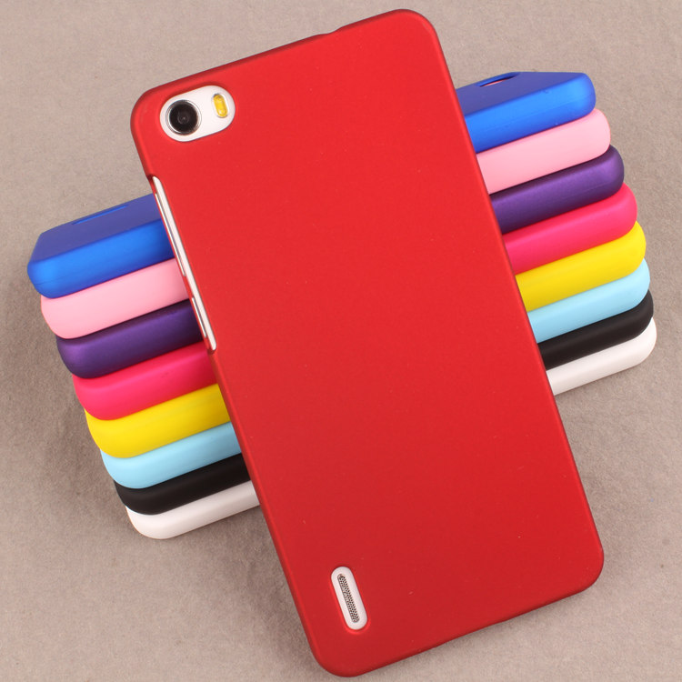 Huawei Honor 6 cover case 0.8mm ultra-thin solid colorful back cover for Huawei Honor 6 H60-L01 Cat6 ( 5.0 )