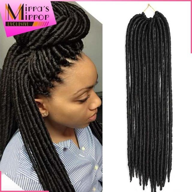 24roots Pack Dread Faux Locs Braids Crochet Hair Havana Twist 14 18 Synthetic Hair Braiding Extensions Premium Soft Dread Locs