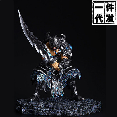 NEW Hot! 25cm The Barbarian King  Tryndamere action figure toys collection doll Christmas gift no box new hot 13cm sailor moon action figure toys doll collection christmas gift with box