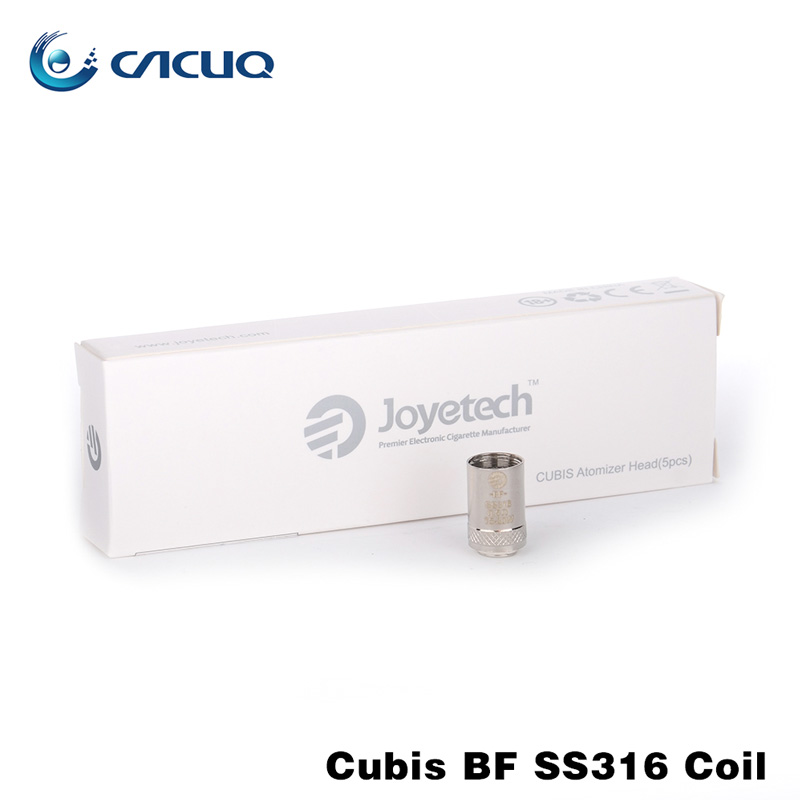 Original Joyetech Cubis Coil BF SS316 Coil 0.5ohm/0.6ohm/1.0ohm Head for Cubis/Ego AIO/Cubis Mini Atomizer 5pcs/lot