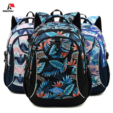 New Scenery Printing Boy Girl Primary School Bag Kids Mochila Escolar Large Capacity Backpack Middle Student Children's Bookbag 16 inch animal 3d backpack boy kids student large school bag bad dog cat dinosaur lion tiger horse panda printing mochila