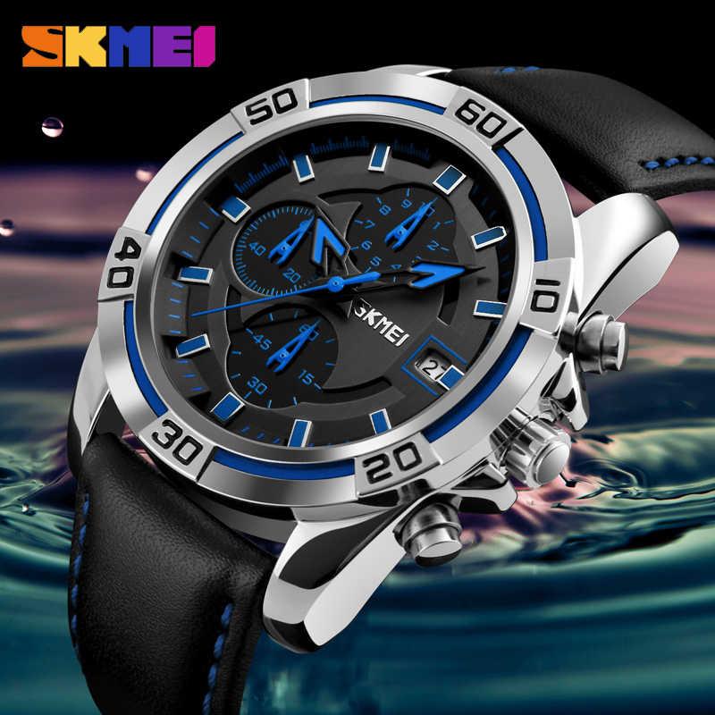 ... SKMEI 2018 Fashion Quartz Watch Men Watches Top Brand Luxury Male Clock  Business Mens Wrist Watch ... b2c79c2190d
