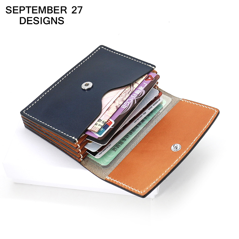 Credit Card Wallets Genuine leather Handmake luxury men Mini wallet ID/Name/Bus/Bank Credit Card Case Women Small Change Purses аксессуар защитное стекло lg g4 ainy 0 33mm