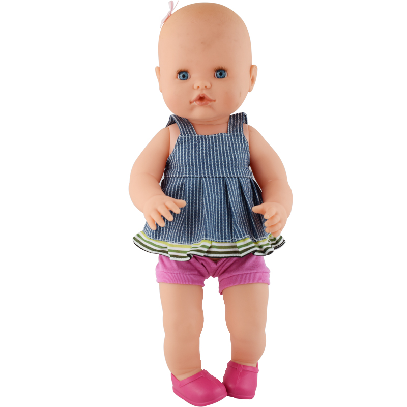 Fashion Pink Doll Shoes For 35cm Nenuco Baby Dolls Clothes,Doll Accessories,Children Best Birthday Gift(only Sell Shoes)