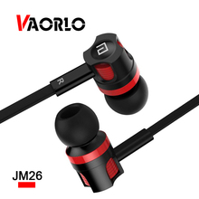JM26 Mobile Phone Earphone Noise Canceling In Ear Headset Earbud wtih Mic Computer Wired earphones for Xiaomi phones Langsdoml