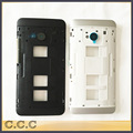 Original housing for HTC One Dual Sim M7 802t 802d 802w middle frame bezel plate with bottons