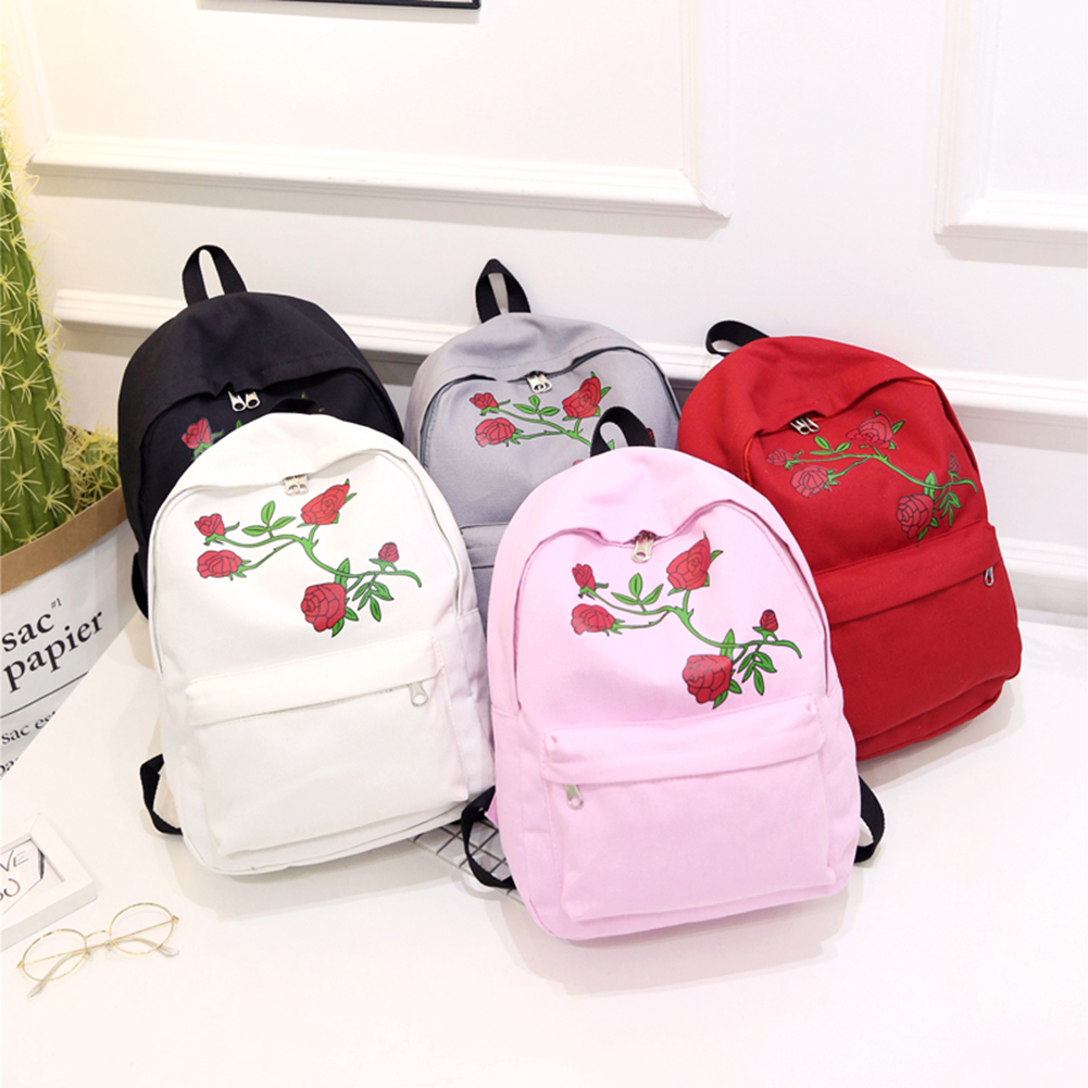 Pink And White Flower Backpack Ken Chad Consulting Ltd