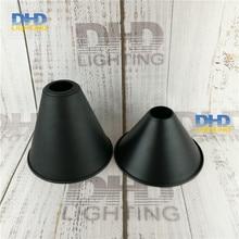 2 стиля черный готовой Железный Абажур Горячая винтажный DIY светильник ing shade промышленный Ретро светильник shade