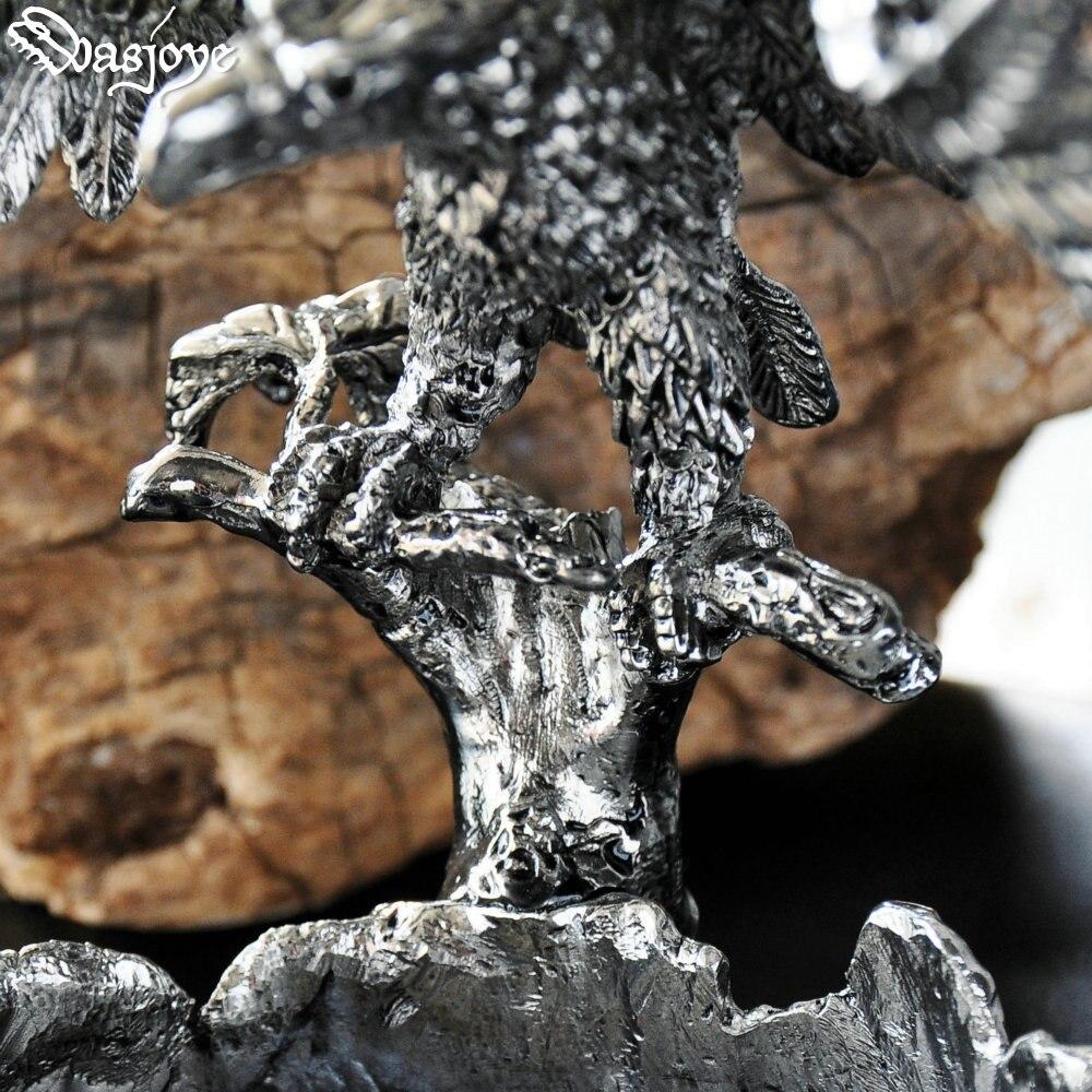 Vintage Eagle Asbak Sigaar Hawk Asbakken Home Decoratie Collectie Metalen Ambachten Verjaardagscadeaus Voor Mannen Mannelijke Vader - 4