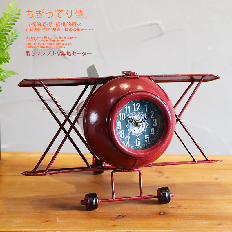 Home & Garden Tuda Free Shipping 8 Inch European Retro Style Decor Table Clock Fashion Creative Resin Table Clock Quiet Quartz Table Clock Delicacies Loved By All