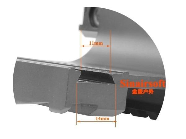 SINAIRSOFT gyorskioldó AK állvány Taktikai dupla Picatinny sínek - Lövés - Fénykép 5