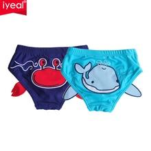IYEAL/2 шт./лот; высокое качество; одежда для купания для малышей; Модный купальный костюм для мальчиков и девочек; детский купальный костюм с шортами
