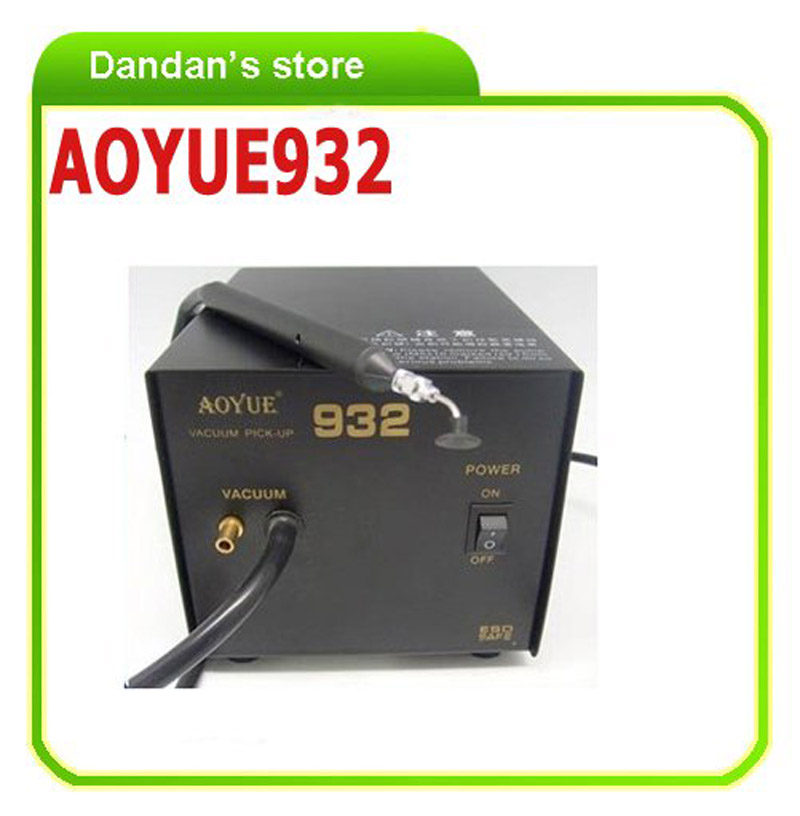 220V AOYUE932 Vacuum Pick-Up station repairing station rework station soldering accessories