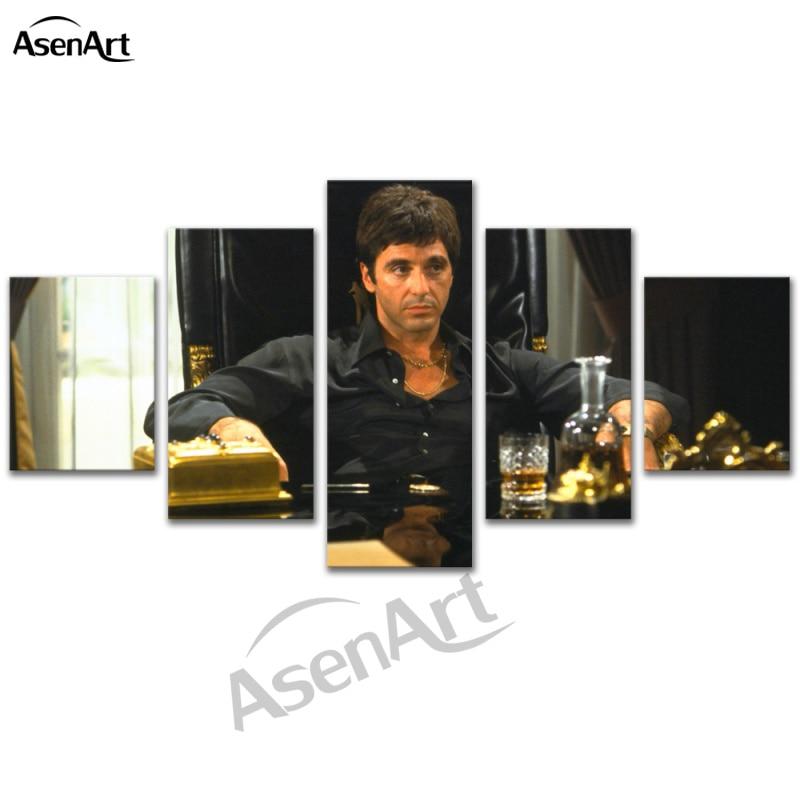 5 stücke Kunst Film Stern Al Pacino Pacino in Tony Montana Scarface ...