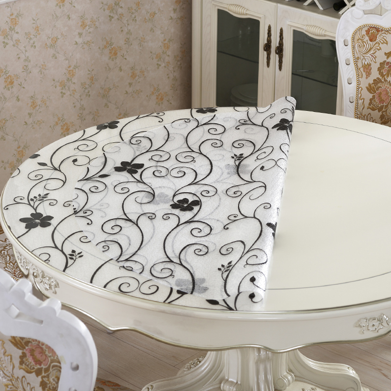 Tafelkleed Rond Wedding Cover Waterproof Tafellaken Rose Gold Home Round Tablecloth Toalha De Mesa Tapete Nappe