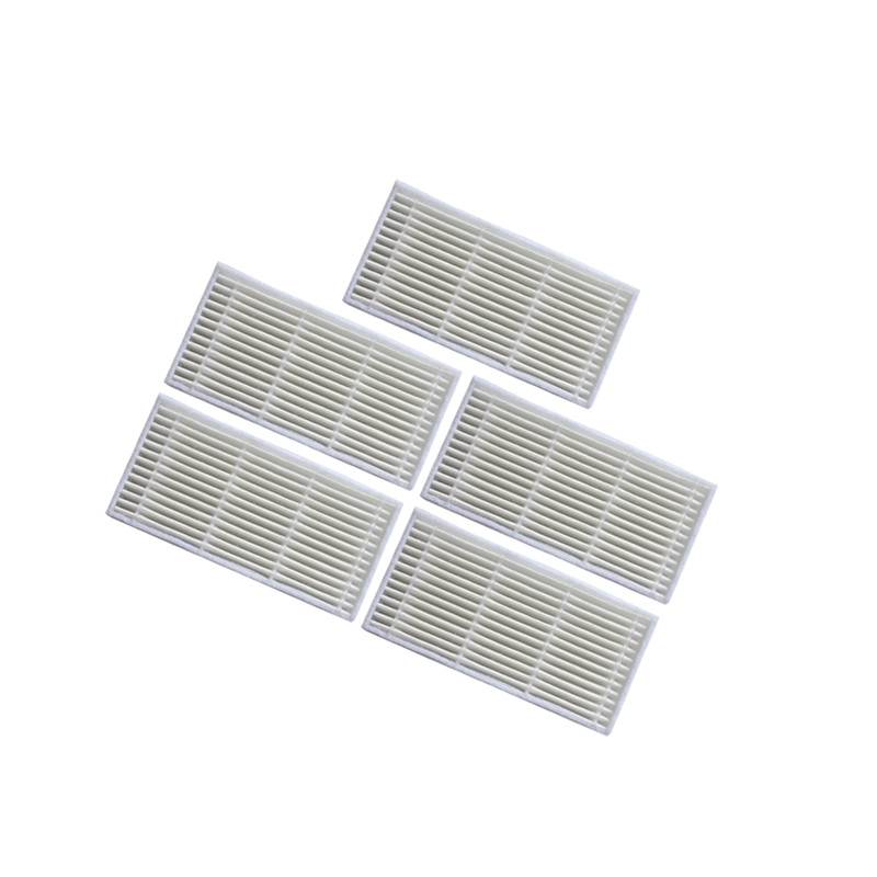 5 pieces HEPA filter for iboto aqua x310 Robotic Vacuum Cleaner Parts filters accessories iboto aqua black