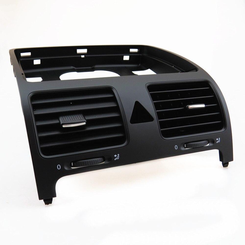 TUKE Black ABS Front Dashboards Central Air Outlet Vent 1KD 819 728 1KD819728 1K0819728 1K0 819