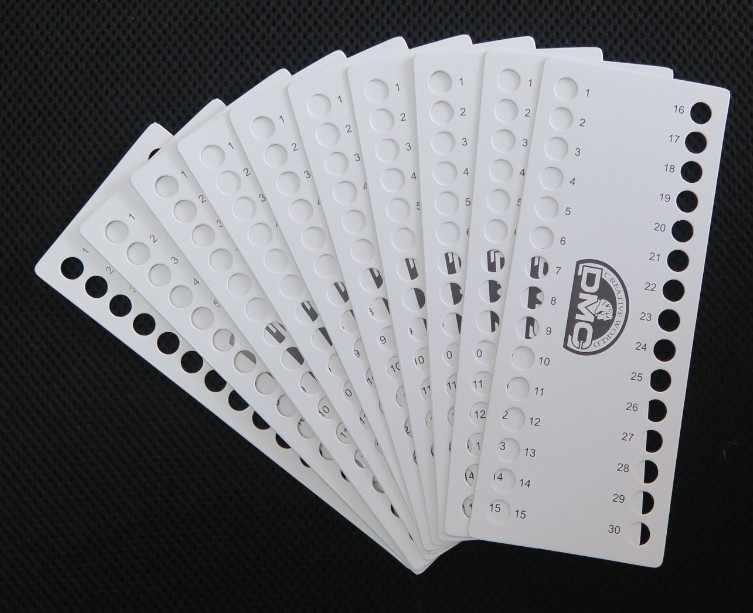 منظم خيوط 30 قطعة 01 ~ 120 لخيوط DMC لوح ورقي فارغ صفيحة x أداة خياطة ذاتية الصنع أعمال تطريز يدوية
