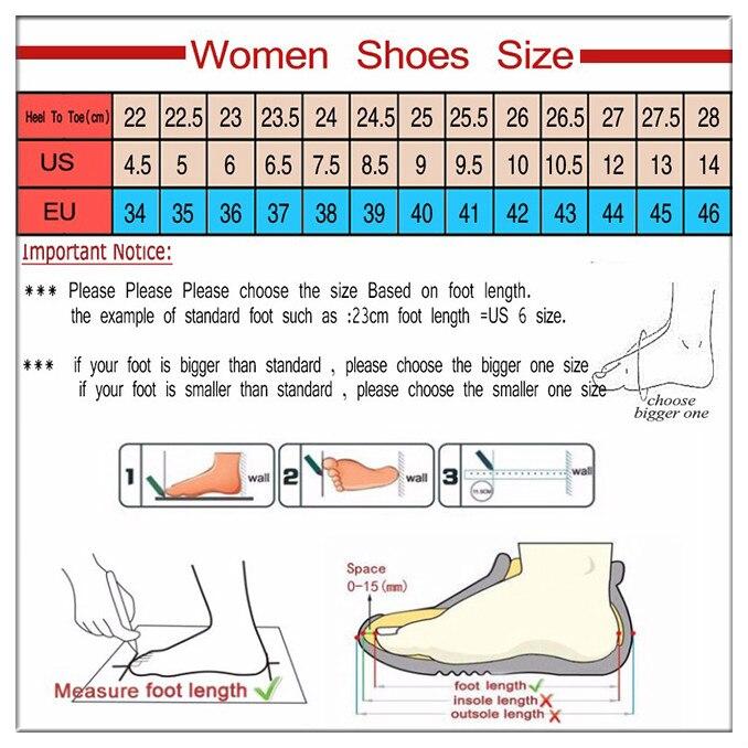 女式鞋子尺码 简单边框