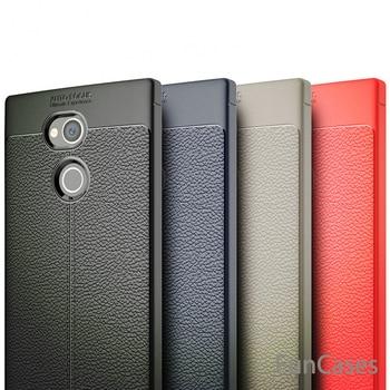 b6248ea2dcc Funda de teléfono para Sony Xperia XA2 Ultra funda de silicona TPU Funda de  cuero de imitación para Sony Xperia XA2 Ultra carcasa de teléfono soni