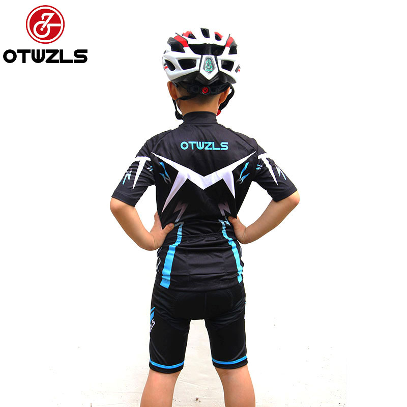 5ac77c7c0 2018 NEW Children Boys Kids Cycling Jersey Set Comfortable Breathable Short  Sleeve with 3D Padded Shorts-in Cycling Sets from Sports   Entertainment on  ...